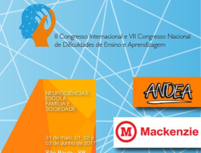 II Congresso Internacional de Dificuldade de Aprendizagem